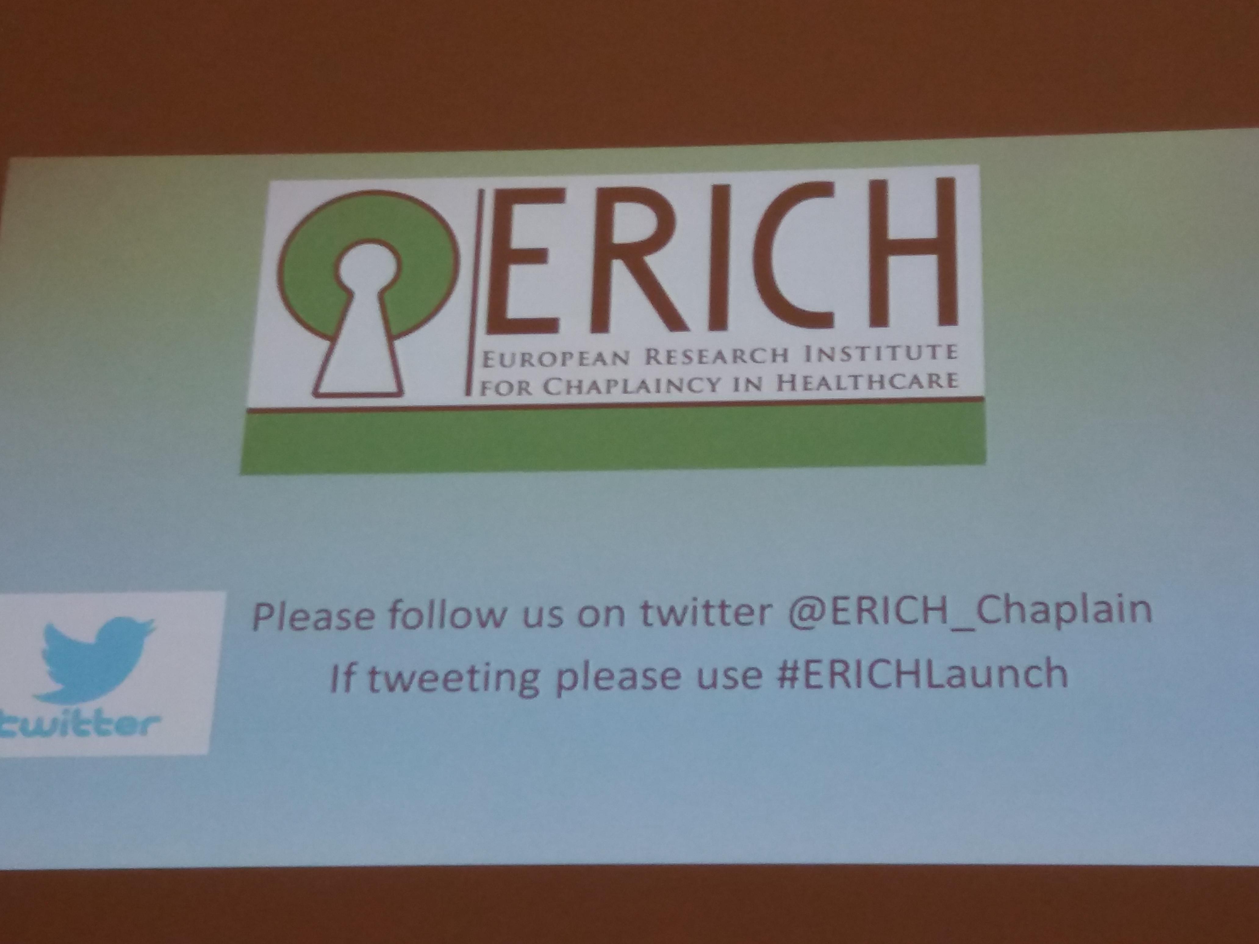 Northern Ireland Healthcare Chaplains Association – ERICH